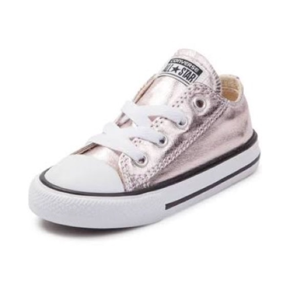 a3fa0a82c3c9 Converse Other - Converse chuck Taylor rose Metallic Sneakers